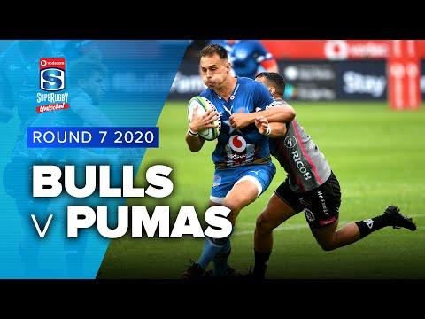Bulls v Pumas Rd.7 2020 Super rugby unlocked video highlights