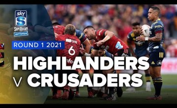 Highlanders v Crusaders Rd.1 2021 Super rugby Aotearoa video highlights
