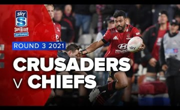 Crusaders v Chiefs Rd.3 2021 Super rugby Aotearoa video highlights | Super Rugby Video Highlights