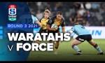 Waratahs v Western Force Rd.3 2021Waratahs v Western Force Rd.3 2021