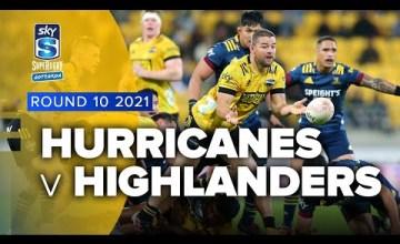 Hurricanes v Highlanders Rd.10 2021 Super rugby Aotearoa video highlights