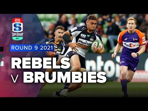 Melbourne Rebels v Brumbies Rd.9 2021 Super rugby AU video highlights