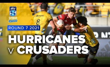 Hurricanes v Crusaders Rd.7 2021 Super rugby Aotearoa video highlights