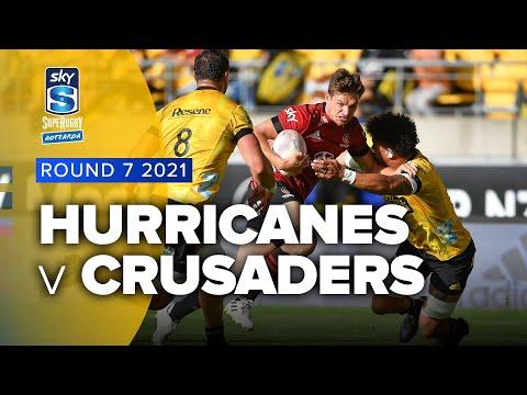 Hurricanes v Crusaders Rd.7 2021 Super rugby Aotearoa video highlights