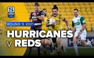 Hurricanes v Reds Rd 5 2021 Super rugby Trans Tasman video highlights