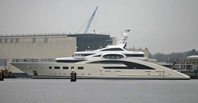Superyacht Ace Launched By Lurssen Yachts