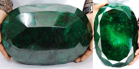Worlds Largest Emerald To Be Sold At Auction