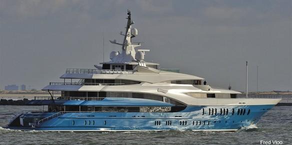Sunrays Y705 Oceanco Yacht Latest Photos