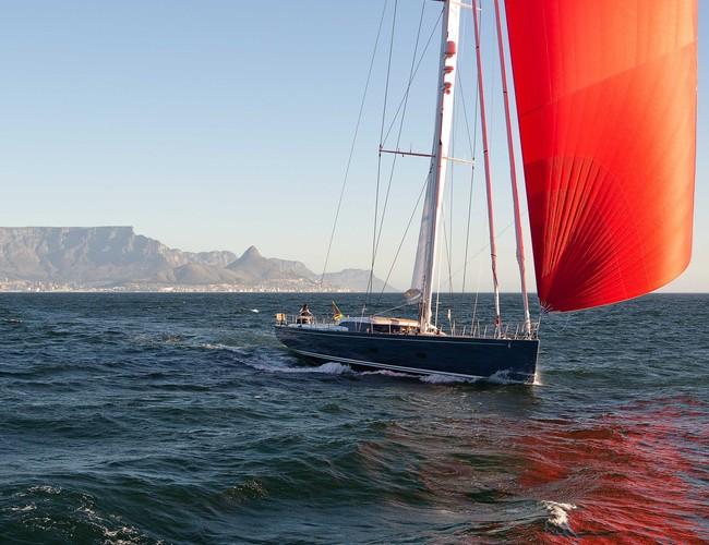 Sailing Yacht Hevea Embarks On Maiden Voyage