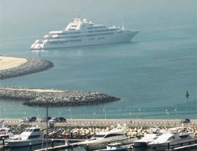 Dubai The Worlds Largest Superyacht At The
