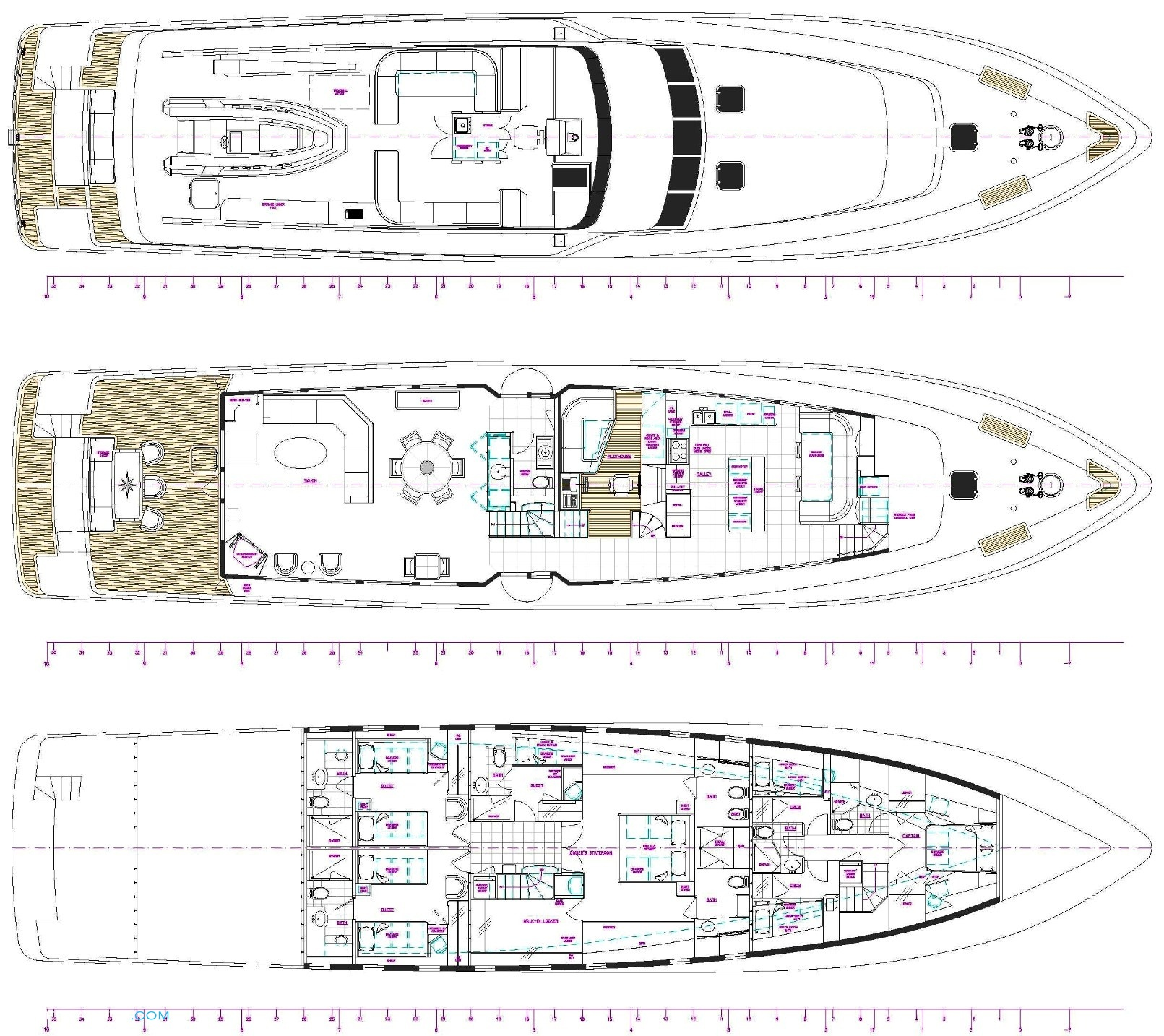 Silver Seas Yacht Layout Burger Boat