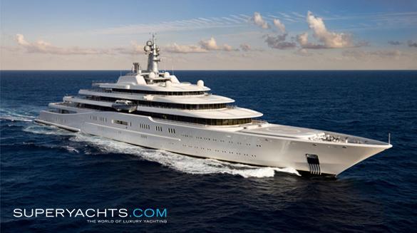 Eclipse Yacht Blohm Voss Shipyards Motor