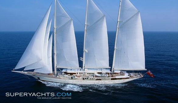 Athena Charter Royal Huisman Sail Yacht