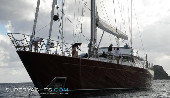 Helios Yacht For Sale Perini Navi Sail Yacht