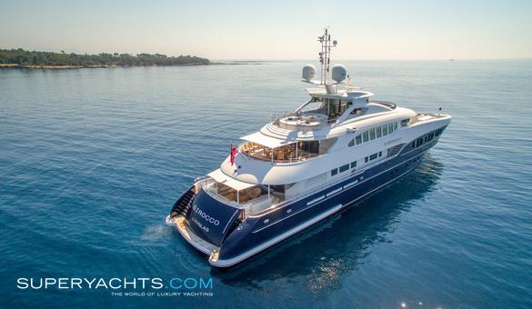 Sirocco Charter Heesen Yachts Motor Yacht