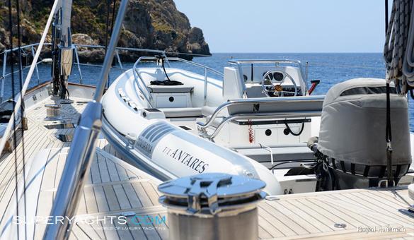 Antares Specification Royal Huisman Sail