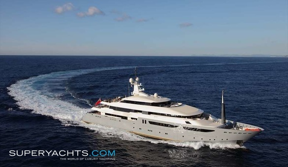 Azteca CRN Motor Yacht