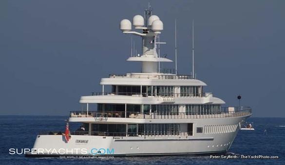 Fountainhead Feadship Motor Yacht