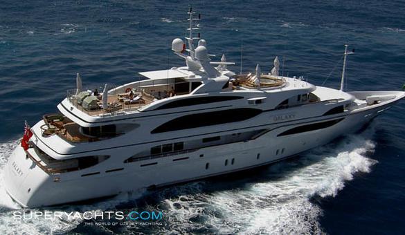 Galaxy Benetti Motor Yacht
