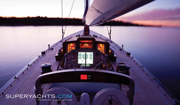 Hanuman Royal Huisman Sail Yacht