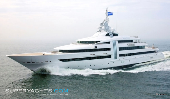 Vibrant Curiosity Oceanco Motor Yacht