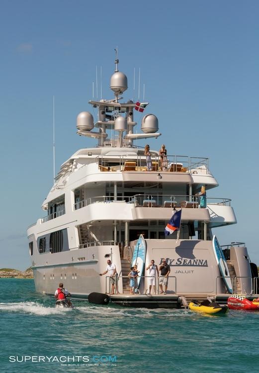 My Seanna Layout Delta Marine Motor Yacht