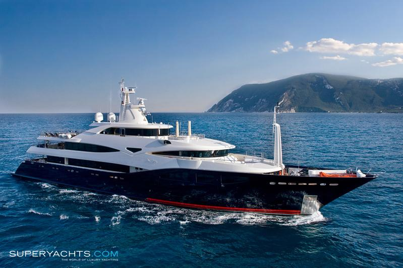 Blue Eyes Photos CRN Motor Yacht