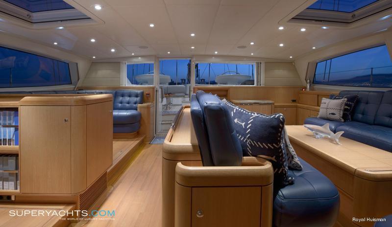 Antares Photos Royal Huisman Sail Yacht