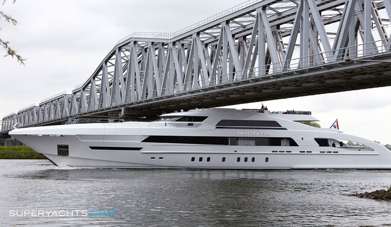 Galactica Star Photos Heesen Yachts Motor