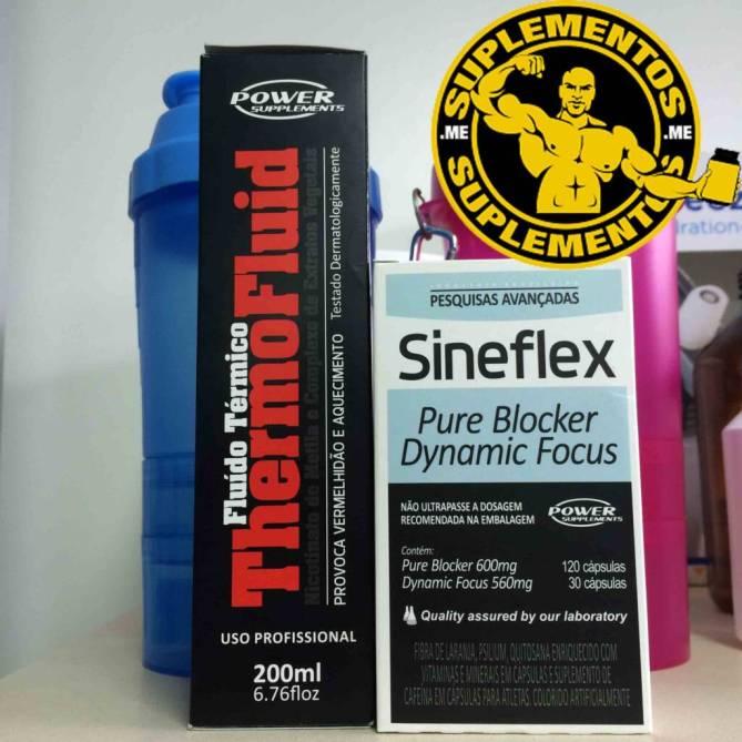 ThermoFluid com Sineflex potencializa os efeitos