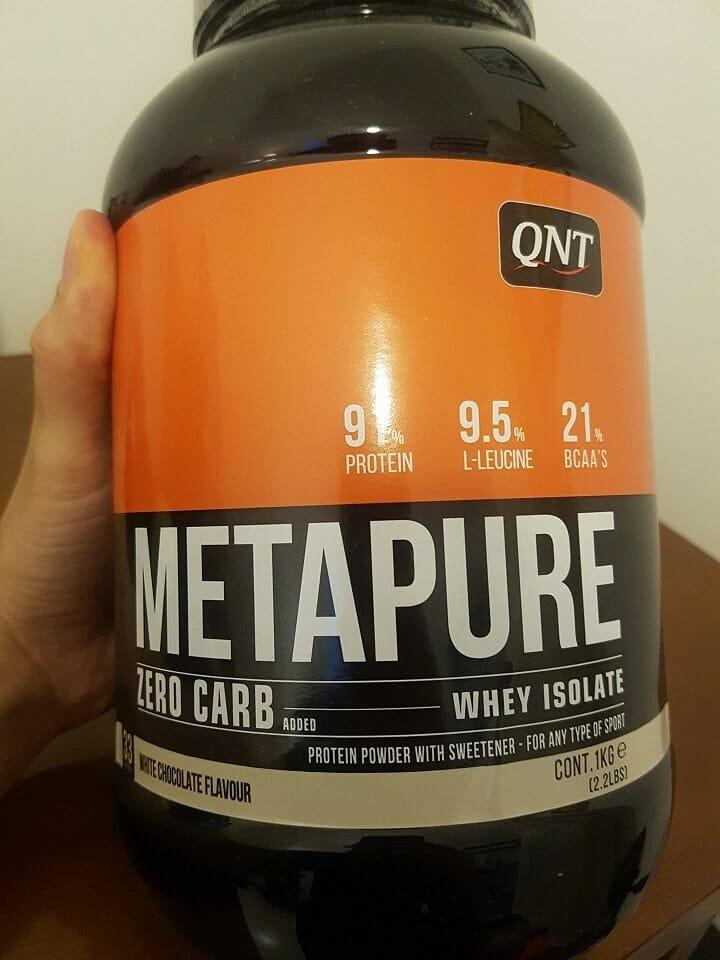 Metapure Zero Carb é boa para perder peso