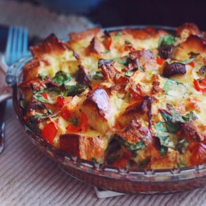 Savory Vegetable Strata