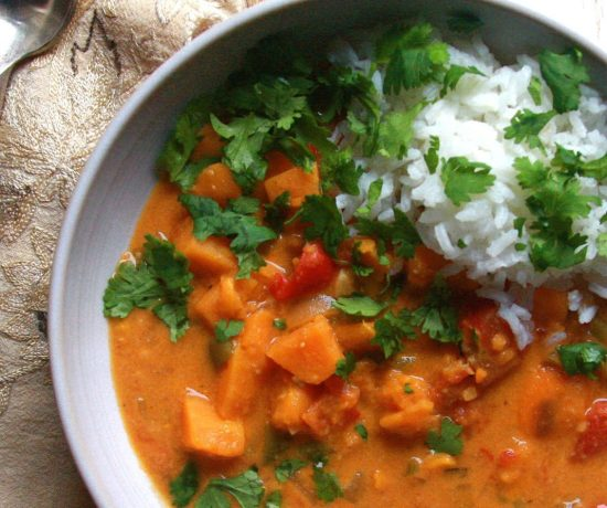 West African Vegetarian Peanut Soup