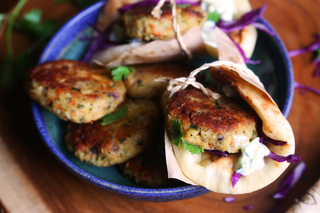Spiced Lentil Patties - Supper With Michelle