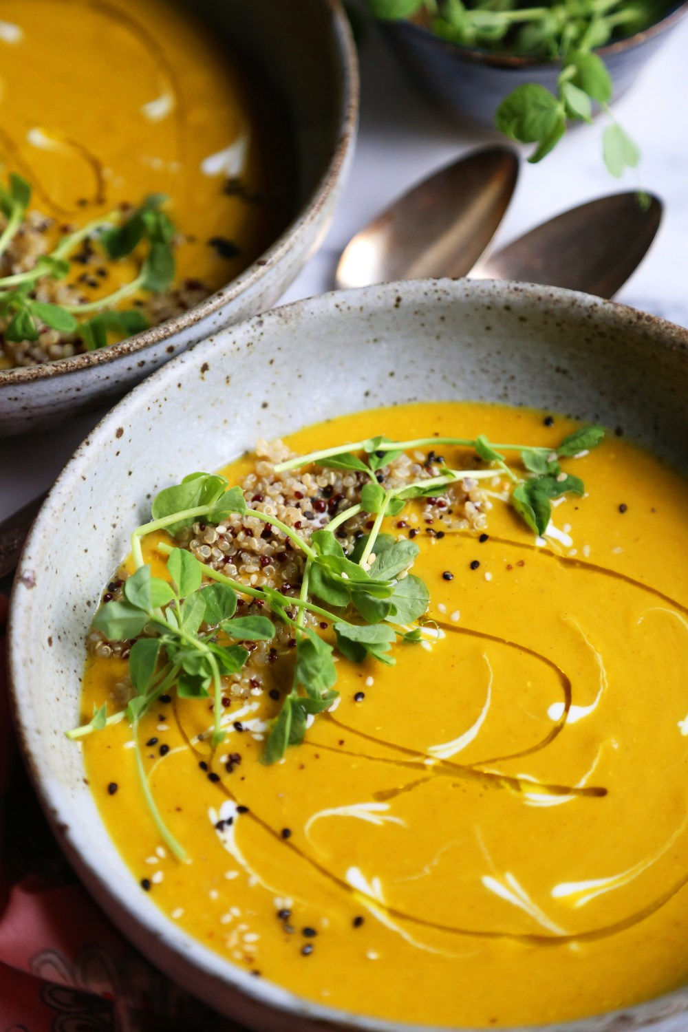 Winter Squash and Red Lentil Curry Soup by Supper With Michelle