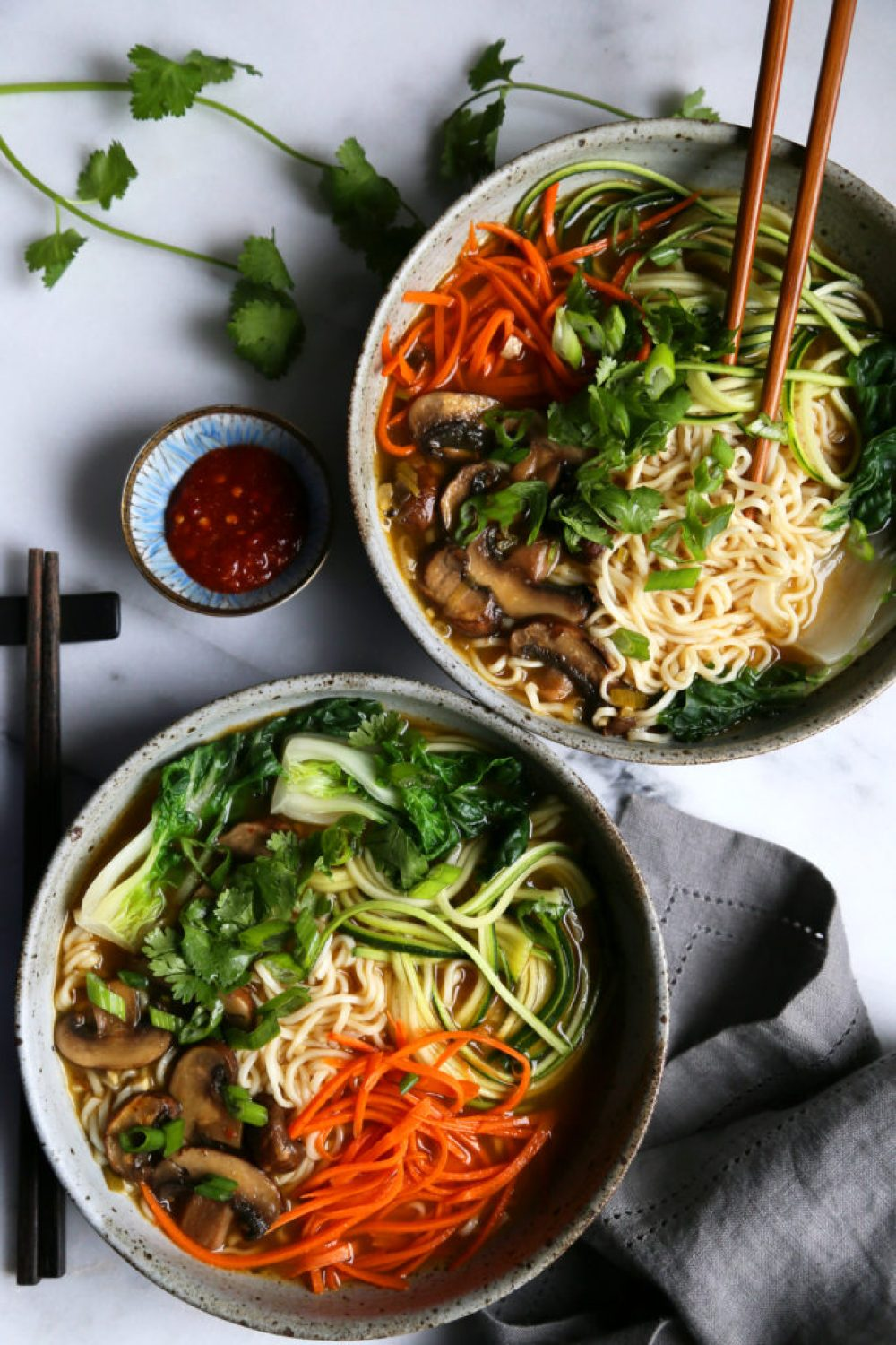 Vegetable Ramen Noodle Soup - Supper With Michelle