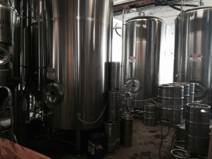 "Behind the ""Curtain"" at Green Man brewery"