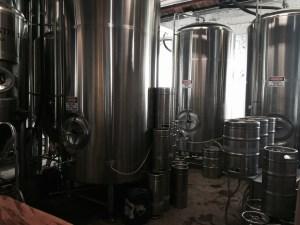 "Behind the ""Curtain"" at Green Man brewery"