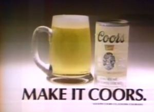 Coors Ad