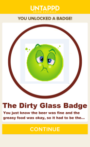 dirty-glass-badge