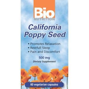 Bio Nutrition California Poppy 60 Cap Vegi