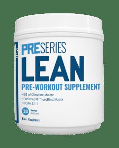 transparent labs lean pre-workout