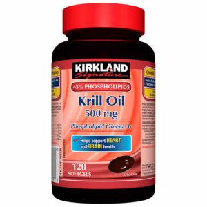 kirkland brand krill oil