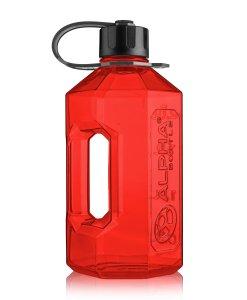 Alpha Bottle 2400ML Red