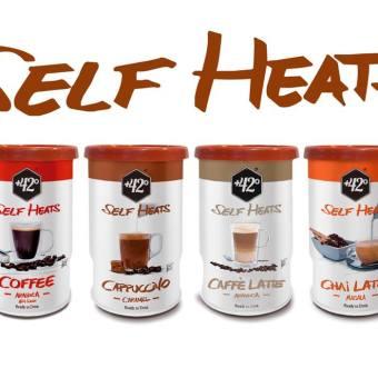 Self heating coffee