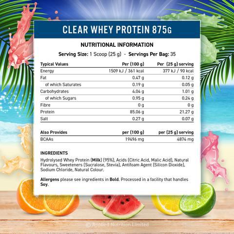 Applied Nutrition Clear Whey Protein