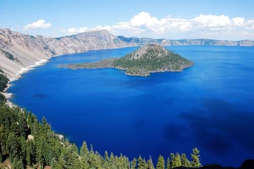 Crater Lake Rejuvenating Destinations