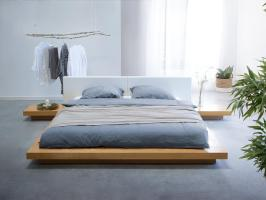 Japanisches Designer Holz Bett Japan Style japanischer ...