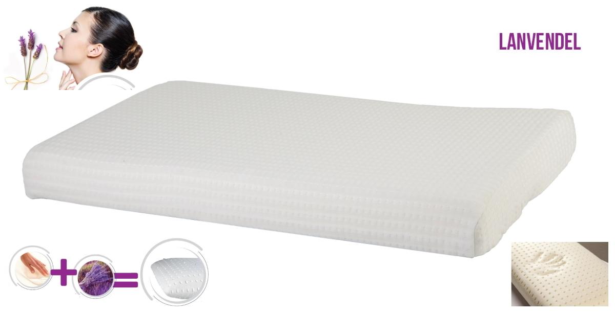 ultra flat gel foam lavender belly pillow 65 x 40 x 7 cm low pillow for belly sleeper gel pillow memory foam