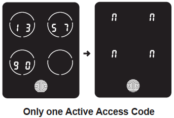 Lockly Smart Home Lock One Access Code